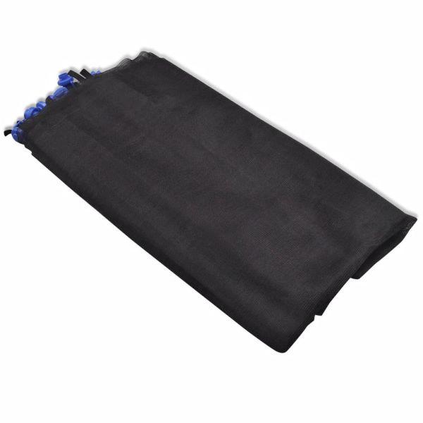 vidaXL Säkerhetsnät PE svart för 3,96 m rund studsmatta