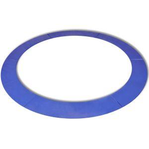 vidaXL Kantskydd PE blå för 13 fot/3,96 m rund studsmatta