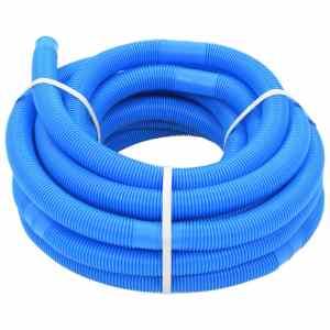 vidaXL Poolslang blå 32 mm 15,4 m