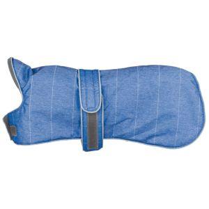 TRIXIE Hund vinterjacka Belfort storlek M 45 cm blå 67864