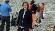 Die amerikanische Forscherin Suzanne Eaton reiste zu einer Konferenz auf die griechische Insel Kreta.