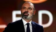 Selbstbewusst: Der frühere französische Premierminister Edouard Philippe bei einem Fernsehauftritt