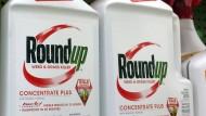 Das Unkrautvernichtungsmittel Roundup