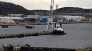 Von Rosyth aus sollen bald Fähren nach Groningen Hafen Whiskey transportieren.