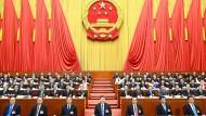 Xi Jinping, Chinas Staats- und Parteichef, beim Volkskongress des vergangenen Jahres. Archiv.