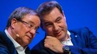 Armin Laschet und Markus Söder: Wen schickt die Union ins Kanzlerrennen, oder wer von den beiden setzt sich durch?
