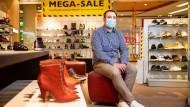 """Schuhverkäufer Dominik Kossack: """"Ich bin ein Krisenopfer"""""""