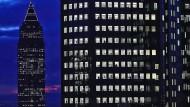 Lichtblick für Frankfurt: Die Bürotürme der Stadt sind nach wie vor begehrt.