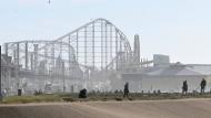 Die Achterbahn am Strand von Blackpool