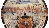 Bischofswappen als Schießscheibe, ein Vierteljahrtausend vor dem Synodalen Weg: Franz Karl Joseph Fugger (1708 bis 1769) war Weihbischof von Konstanz und Titularbischof von Domitiopolis in Kleinasien.