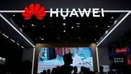 Huawei-Stand auf der Elektronikmesse CES