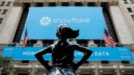 Fulminantes Börsendebüt: Banner von Snowflake an der New Yorker Börse