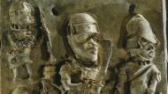 Das Rittertum in voller Blüte war kein europäischer Alleinbesitz, wie diese Berliner Benin-Bronze zeigt.