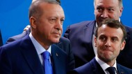 Bild aus besseren Zeiten: Erdogan und Macron am 19. Januar 2020 in Berlin