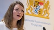 Die bayerische Staatsministerin für Digitales, Judith Gerlach (CSU)