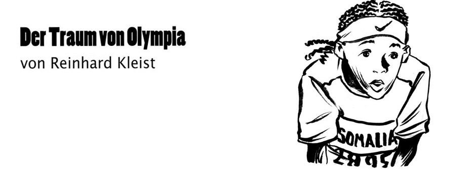 """Comic: Reinhard Kleist: """"Der Traum von Olympia"""""""