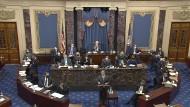 Der demokratische Anklagevertreter David Cicilline am Dienstag im Senat