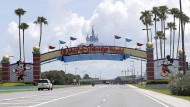 Wegen der Pandemie mussten viele Freizeitparks von Disney geschlossen bleiben wie hier in Lake Buena Vista.