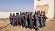 Ausbildung: Rekruten der afghanischen Polizei im Jahr 2010