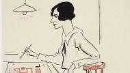 Zur rechten Zeit am rechten Ort, um den sozialen Wohnungsbau neu zu definieren: Margarete Lihotzky, gezeichnet von Lino Salini , 1927.