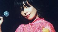 Die isländische Sängerin Björk