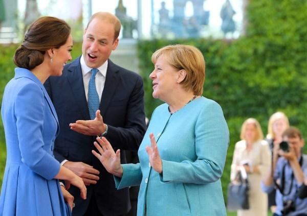 Bilderstrecke William und Kate in Berlin