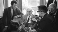 """Frankfurter Anthologie: """"Die unverschlossene Tür"""" von Robert Frost"""