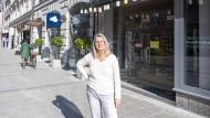 Sabine Schubert betreibt das Einzelhandelsgeschäft Kadoh.