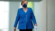 Bundeskanzlerin Angela Merkel (CDU) am 5. Juli in Berlin