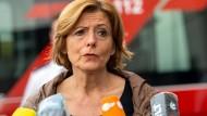 Die rheinland-pfälzische Ministerpräsidentin Malu Dreyer am Freitagmorgen in Trier.