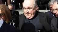 Wieder auf freiem Fuß: Philip Wilson, ehemaliger Erzbischof von Adelaide