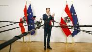 Österreich verhängt über Weihnachten Quarantänepflicht für Einreisende aus Risikogebieten