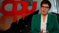CDU-Vorsitzende auf Abruf: Annegret Kramp-Karrenbauer
