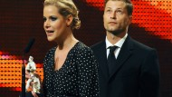 Anika Decker und Til Schweiger bei der Verleihung des Bayerischen Filmpreises 2009