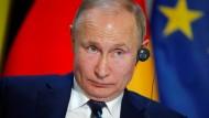 """Putin nannte das Mordopfer in Paris """"blutrünstig""""."""