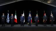 Die Staats- und Regierungschefs der sieben EU-Anrainerstaaten treffen sich auf Korsika.