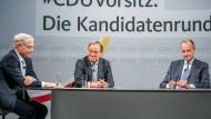 Merz, Röttgen oder Laschet: Die CDU auf einer Fahrt ins Ungewisse