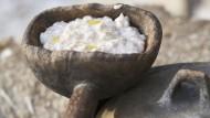 Jeden Tag Getreidemampf. Im Mittelalter kam man so ja auch zurecht.