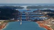Der Panamakanal bei Colon