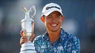 Das Strahlen eines Siegers: Collin Morikawa bei den British Open