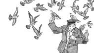 Eine Stadt-, keine Landplage: Der Nachbar hat nichts gegen Tauben.