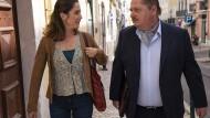 Spielen das Anwaltsteam von Lissabon: Vidina Popov und Jürgen Tarrach