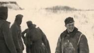 Scheinen kurz vor dem Tiefpunkt in gehobener Stimmung zu sein: Wehrmachtssoldaten 1942 an der russischen Front