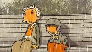 """""""So einen bescheuerten Freund brauch ich nicht!"""": In """"Rico, Oskar und das Mistverständnis"""" gibt es Streit."""