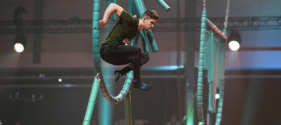 """Big Bounce"": Jonas Marqua in Aktion."