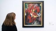 """Lange dürften Franz Marcs """"Füchse"""" nicht mehr im Düsseldorfer Museum Kunstpalast hängen. Im Kulturausschuss hat der Magistrat am 15. April vorgeschlagen, die Empfehlung der Limbach-Kommission zu befolgen und das Bild herauszugeben."""