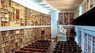 Berühmte Schweizer Bibliothek in Gefahr
