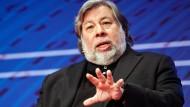 Steve Wozniak im Jahr 2014 auf der Cebit.