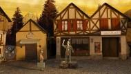 """Dorf-Idylle und eine Spur Mystery: """"Trüberbrook"""" ist ein modernes Adventure mit ganz klassischer Spielmechanik. Die Szenenbilder beruhen überwiegend auf Miniaturmodellen."""