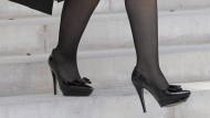 Schicke Schuhe der argentinischen Präsidentin Cristina Kirchner